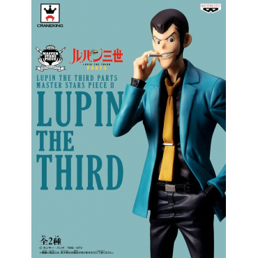 Lupin The Third - Figurine Lupin Master Stars Piece II