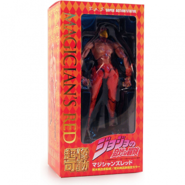 Jojo's Bizarre Adventure - Figurine Magicians Red Part 3