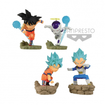 Dragon Ball Super - Pack Figurines World Collectable Diorama Vol.3