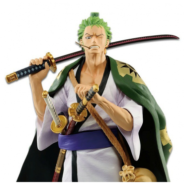 One Piece - Figurine Roronoa Zoro Japanese Style