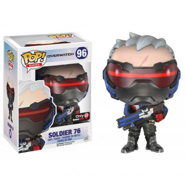 Overwatch - Figurine POP Soldier 76