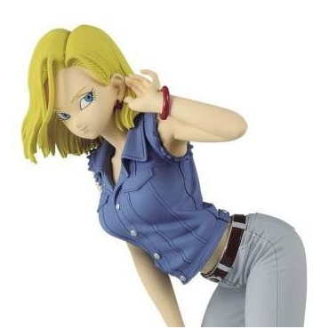 Dragon Ball Z - Figurine Android 18 Glitter & Glamours Version A