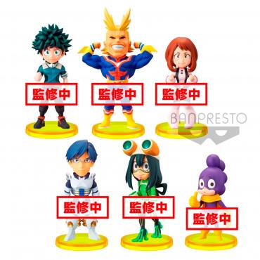 My Hero Academia - Pack Figurines WCF