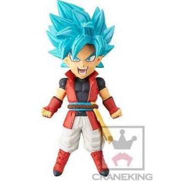 Dragon Ball Heroes - Figurine Goku SSJ Blue SDBH 16 WCF Vol.4