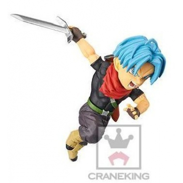 Dragon Ball Heroes - Figurine Mirai Trunks SDBH 19 WCF Vol.4