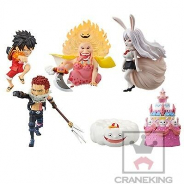 One Piece - Pack Figurines WCF Whole Cake Island Vol.3