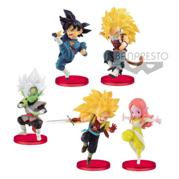 Super Dragon Ball Heroes - Pack Figurines WCF
