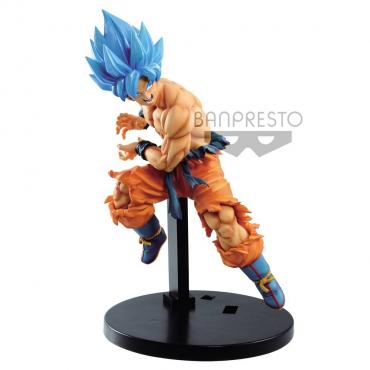 Dragon Ball Super - Figurine Son Goku SSJ Blue Tag Fighter