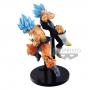 Dragon Ball Super - Pack Figurines Goku Et Vegeta SSJ Blue Tag Fighter