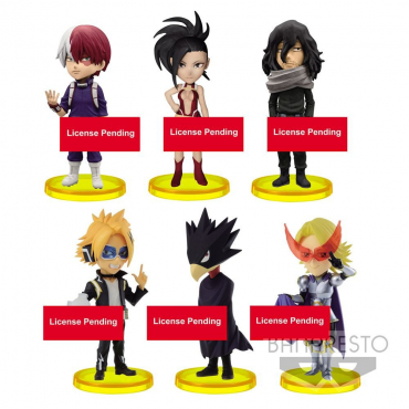 My Hero Academia - Pack Figurines WCF Vol.2