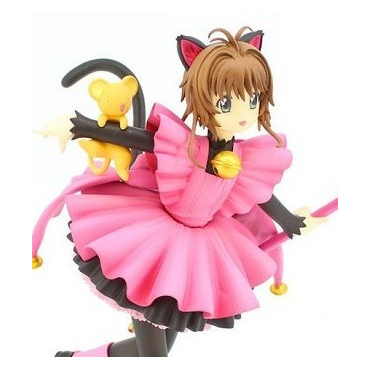Sakura Chasseuse De Cartes - Figurine Sakura Lovely Kitten