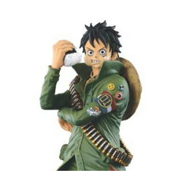One Piece - Figurine Luffy Ichiban Kuji Military Style Lot A