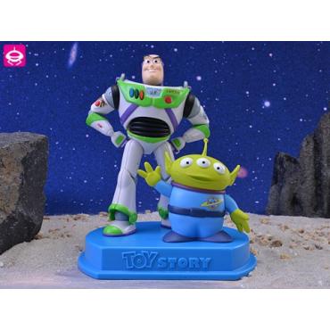 Toy Story - Figurine Buzz L'Eclair Et Alien