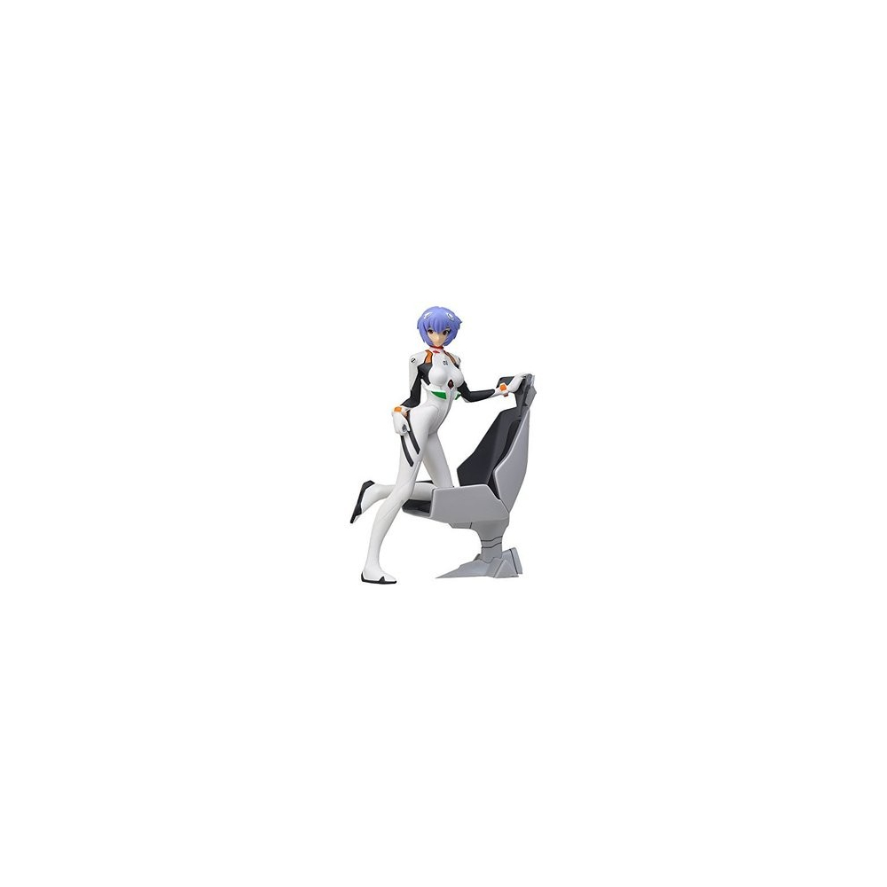 Evangelion - Figurine Ayanami Rei Girl With Chair
