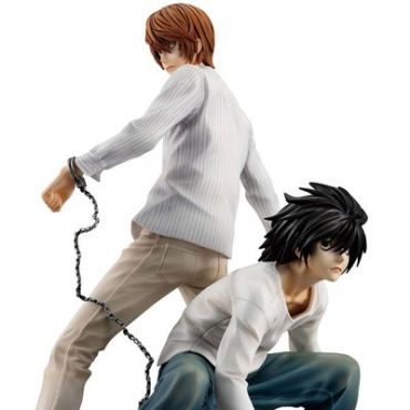 Death Note - Figurine Yagami Light & L G.E.M