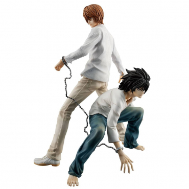 Death Note - Figurine Yagami Light & L G.E.M
