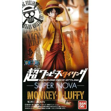 One Piece - Figurine Monkey D Luffy Super Nova Styling