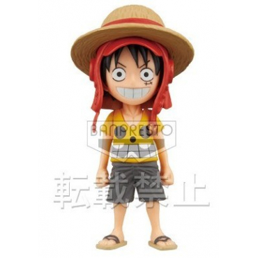 One Piece - Figurine Monkey D Luffy Film Z WCF FZ001