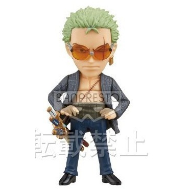 One Piece - Figurine Roronoa Zoro Film Z WCF FZ002