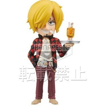 One Piece - Figurine Sanji Film Z WCF FZ005