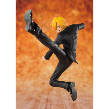One Piece - Figurine Sanji Black Leg Figuarts Zero