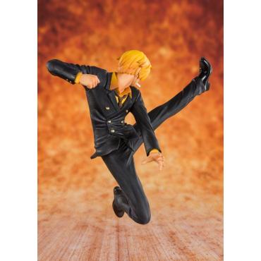 One Piece - Figurine Sanji Black Leg Figuarts Zero