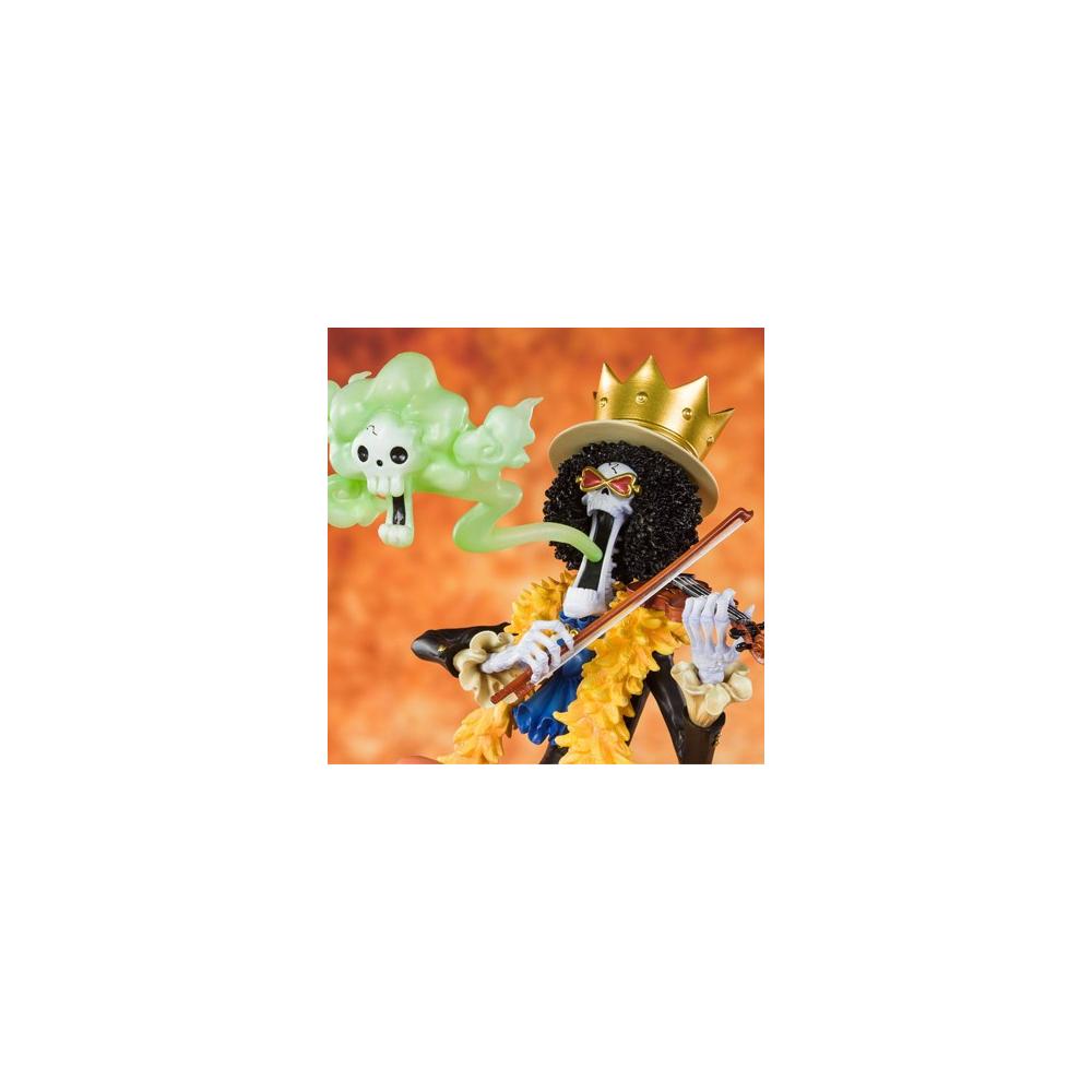 One Piece - Figurine Brook Humming Figuarts Zero