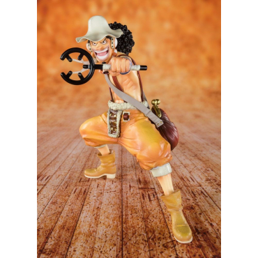 One Piece - Figurine Usopp Sniper King  Figuarts Zero
