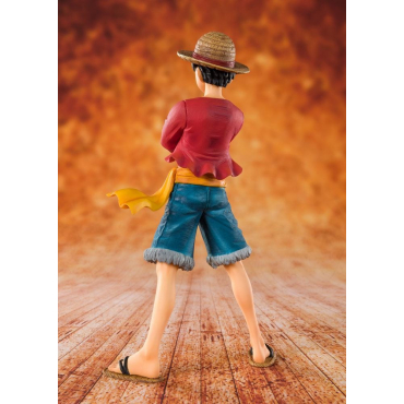 One Piece - Figurine Monkey D Luffy Straw Hat Figuarts Zero
