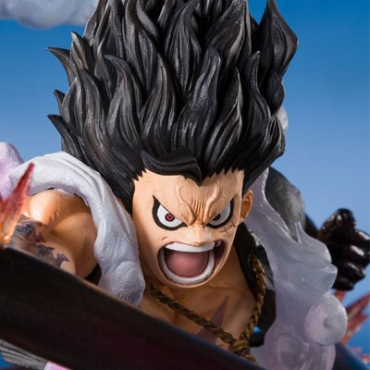 One Piece - Figurine Monkey D Luffy Gear 4 Snake Man Figuarts Zero