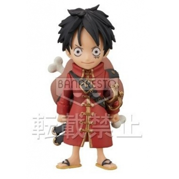 One Piece - Figurine Monkey D Luffy WCF FZ017 Film Z
