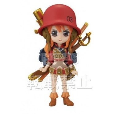 One Piece - Figurine Nami WCF FZ019 Film Z