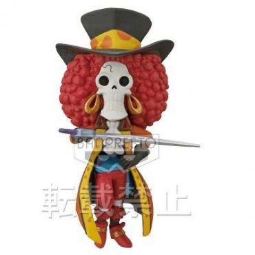One Piece - Figurine Brook WCF FZ024 Film Z