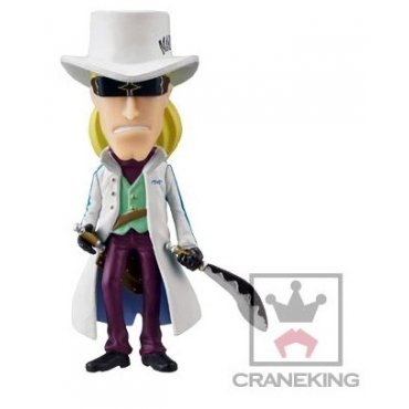 One Piece - Figurine Helmeppo WCF FZ040 Film Z Vol.5