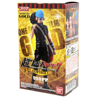 One Piece - Figurine Usopp Super Styling Film Gold