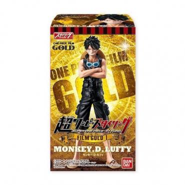 One Piece - Figurine Monkey D Luffy Super Styling Film Gold