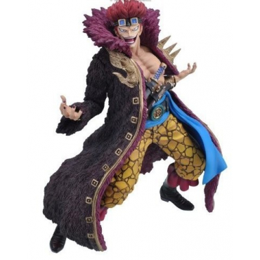 One Piece - Figurine Eustass Kid Ichiban Kuji Lot E