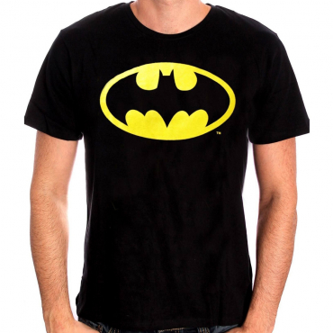 T-Shirt Homme Logo Batman