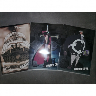 One Piece - Lot De 3 Portes...