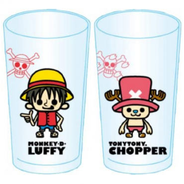 One Piece - Lot De 2 Verres...