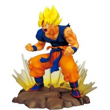 Dragon Ball Z - Figurine Goku Genkai Power Ichiban Kuji