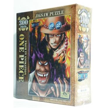 One Piece - Puzzle Ace et Barbe Noire 300 pièces