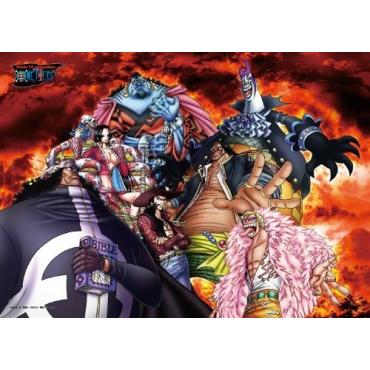 One Piece - Puzzle 500 Pièces Schichibukai