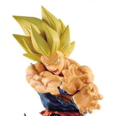 Dragon Ball Z - Figurine Son Goku Super Saiyan Kamehameha Legends Collab