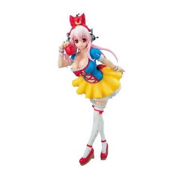 Super Sonico - Figurine Sonico Version Blanche Neige