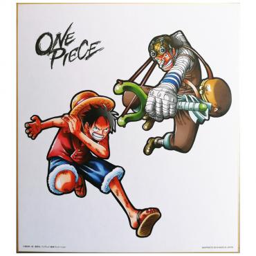 One Piece - Shikishi Art...