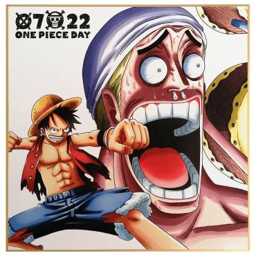 One Piece - Shikishi Luffy...