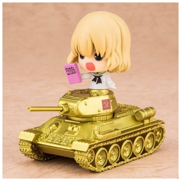 Girls And Panzer Movie -...