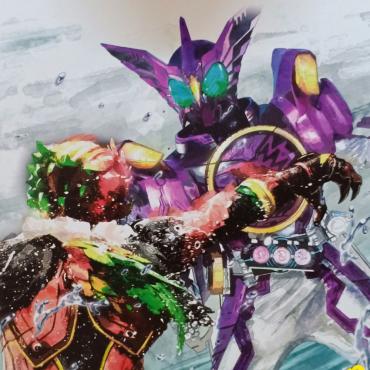 Kamen Rider - Shikishi Art...