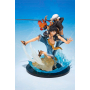One Piece - Figurine Luffy Et Trafalgar Law Figuarts Zero 5e Anniversaire